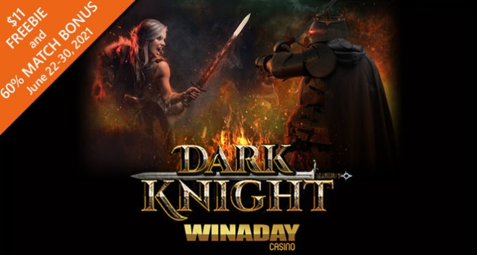 WinADay Casino's 13th Birthday Party Continues with New Dark Knight Game
