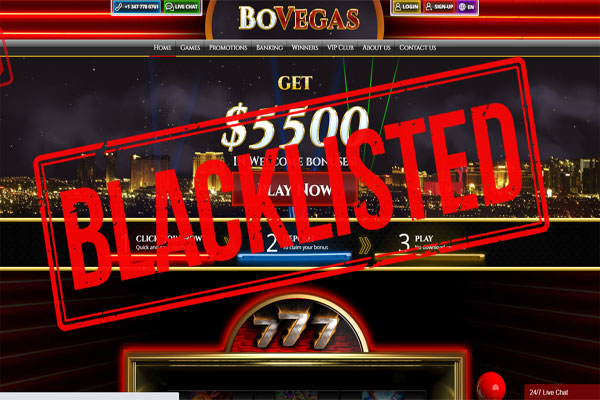 BoVegas, Cherry Gold, Golden Lion, Two-Up Are Now Blacklisted