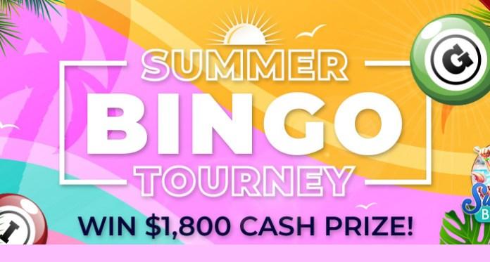 Win Big Playing CyberSpins' Summer Bingo Tourney