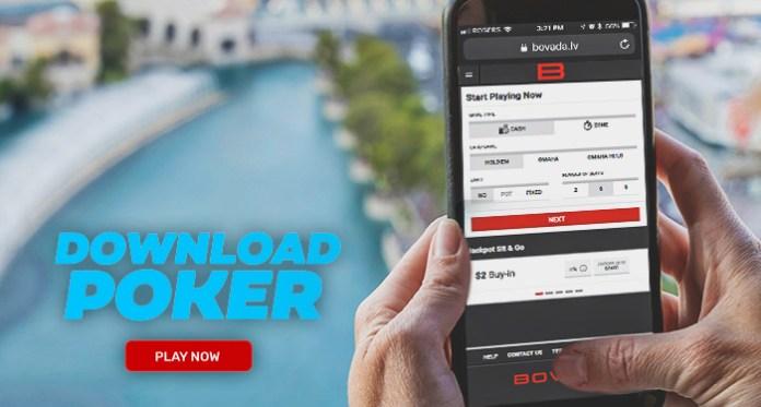 Stack Up dan Mainkan di Perjalanan dengan Bovada Mobile Poker