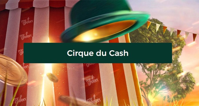 Spin to Win $80,000 in Mr Green's Cirque du Cash Giveaway