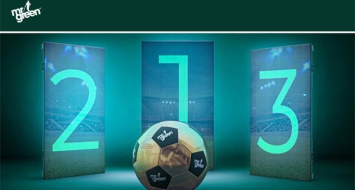€2,500 Free Bet League Kicks Off at Mr Green This Week!