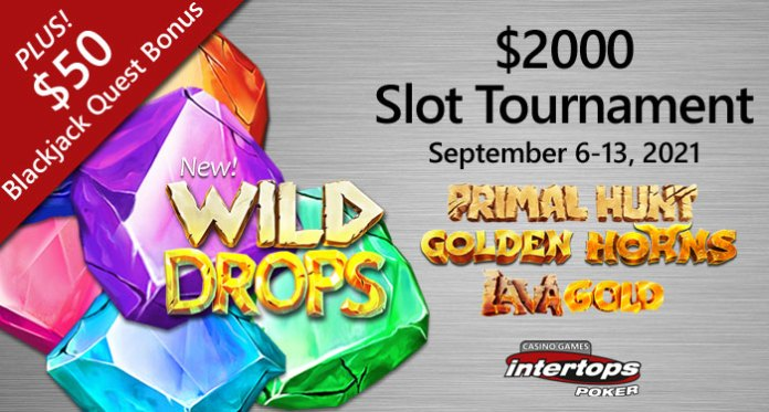 Betsoft's Glittering New 'Wild Drops' Debuts in $2000 Slots Tournament