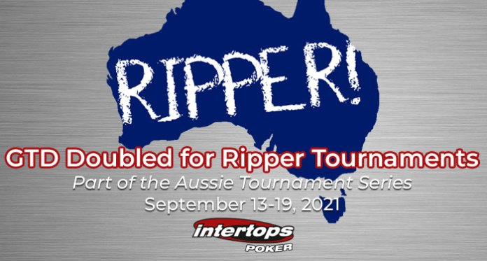 GTD Doubled for This Week's Ripper Special Poker Tournaments