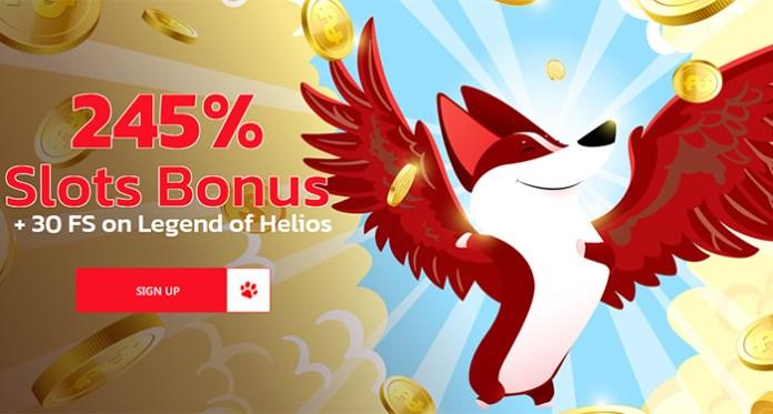 Dapatkan Bonus Ekstra 175% + 75 Putaran Gratis di Game Baru Red Dog