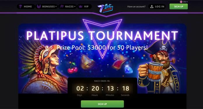 Sudahkah Anda Bergabung dengan Turnamen Platipus 7Bit Casinos?