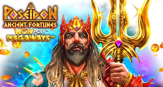 Microgaming's Ancient Fortunes™: Poseidon WowPot Megaways™ Hit €3.8M