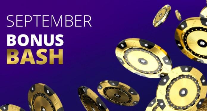 Bonus September Bash Akhirnya Di Sini di CryptoSlots