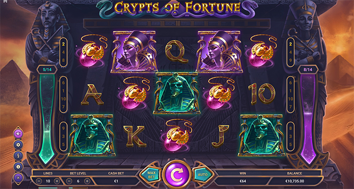 Explore the Land of the Pharaohs in True Labs New Crypts of Fortune