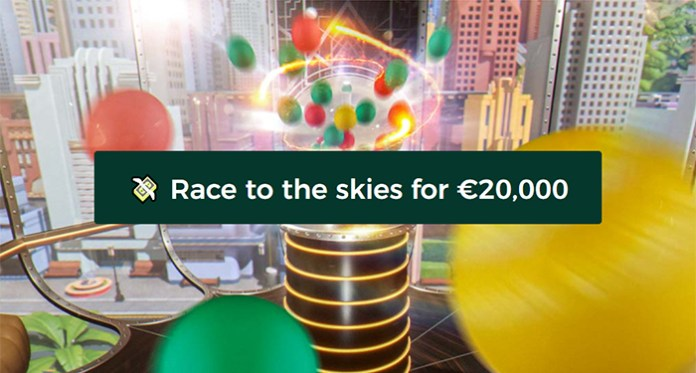 €20,000 Prize Pool in Mr Green's Sky is the Limit Promo