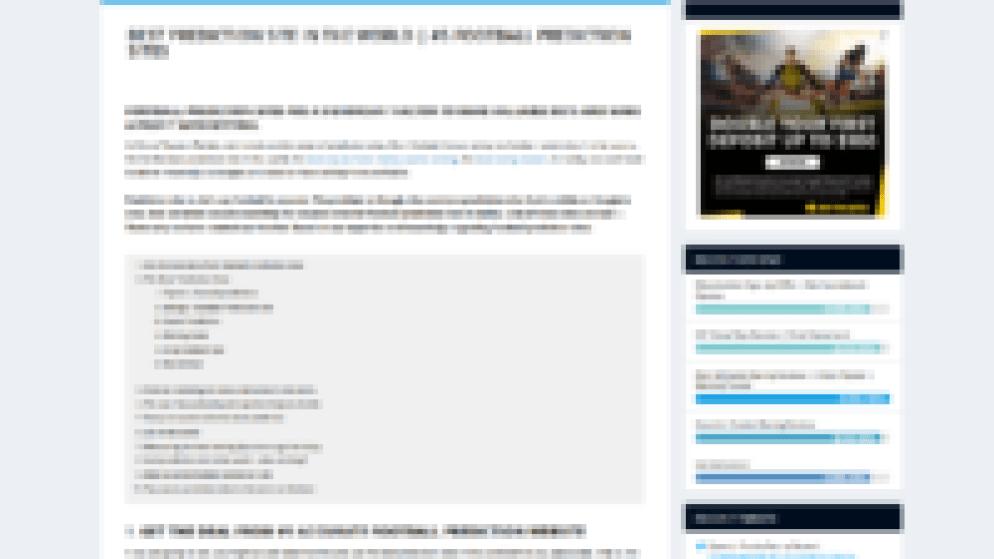 football prediction sites according to HTR