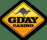 Gday Casino bonus, bland annat 50 free spins. Behövs ingen bonuskod. Lär dig allt i denna recension!