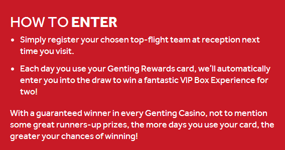 genting how to enter