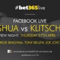 Anthony Joshua & Vladamir Klitschko The Biggest Fight  In London