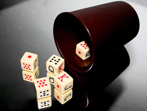 Póker de dados
