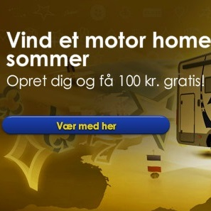 Få 100 kr NU og vind et mobile home til sommer!