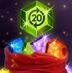 Dagens casino julekalender tilbud – op til 20 free spins på Starburst