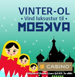 Vær med I Casino Vinter OL kampagne