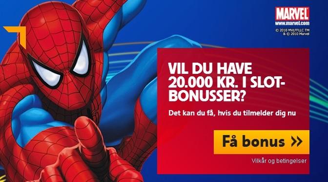 Danmarks største casino bonus!