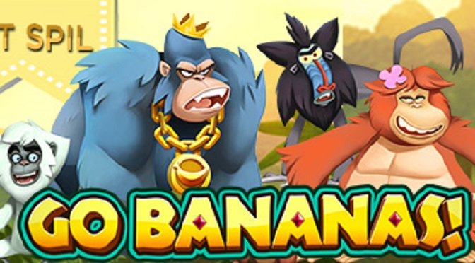 Spilleautomaten Go Bananas fra Net Entertainment