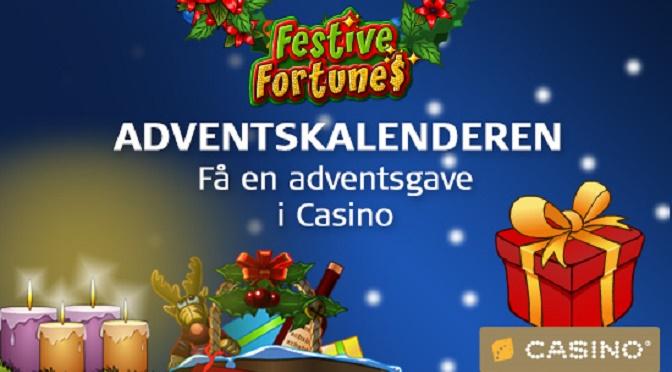 Casino Adventskalender 2014 – masser af bonusser!