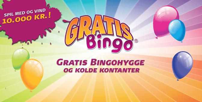 Prøv Gratis Bingo og vind op til 10.000 Kr.