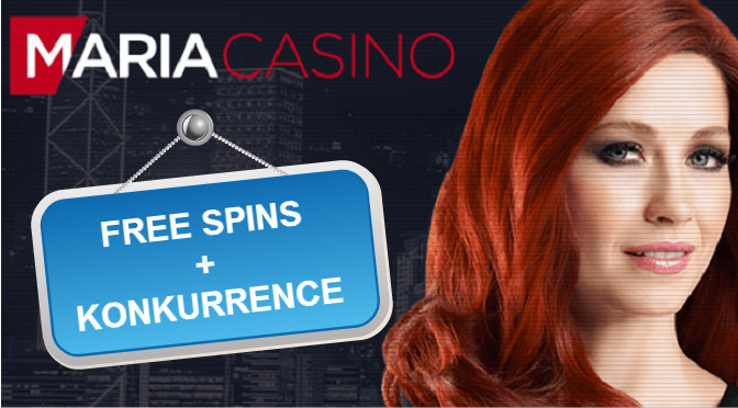 maria casino konkurrence og free spins