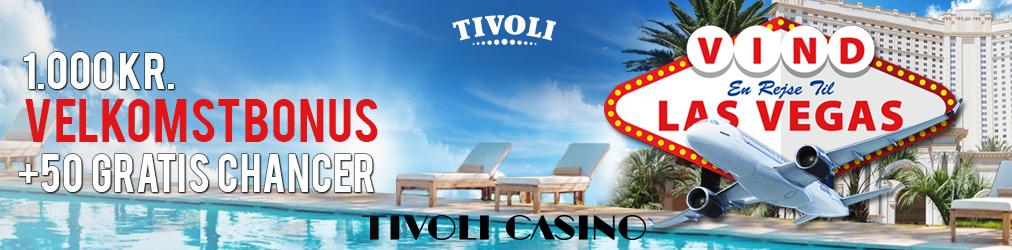 Vind en rejse til Las Vegas, iPhone eller iPad i Tivoli Casinos Juleræs!