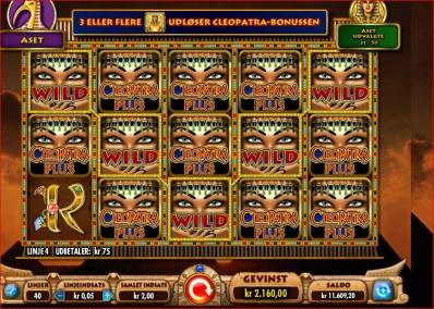 Cleopatra spilleautomaten