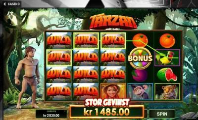 Tarzan spilleautomaten