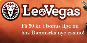 LeoVegas er et af de nye casinoer i Danmark