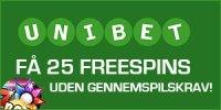 unibet casino gratis spins