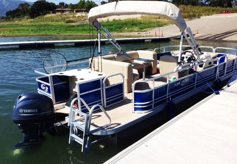 Casitas Boat Cruises G3 SunCatcher Pontoon Boat
