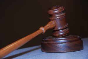 Small Claims Court Gavel