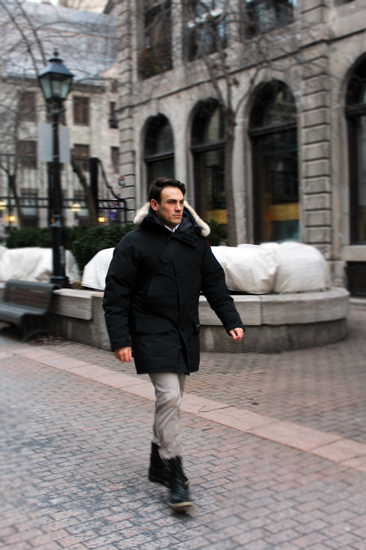 Mickael Casol Old Montreal Canada Goose And Ugg Boots