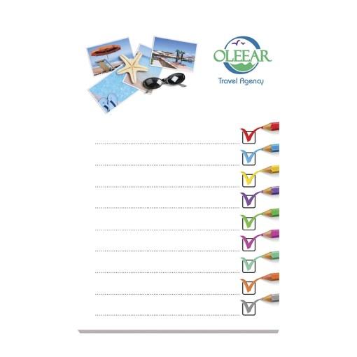 BIC® 101 mm x 152 mm 100 Fogli Adhesive Notepads