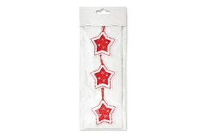 Set 3 stelle decorative