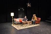 "Macbeth and Lennox talk of the ""rough night."""