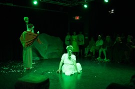 Prospero conjures up the past.