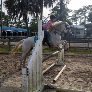 Practicing over jumps riding club horseback riding lessons
