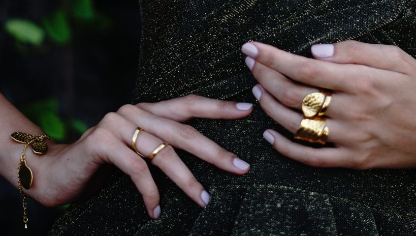 hands with jewellery