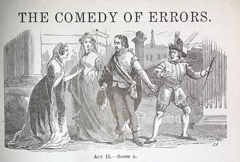 Comedy of Errors Lithograph