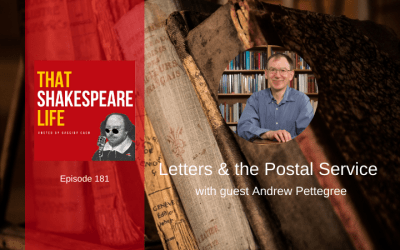 Ep 181: Letters and the Postal Service with Andrew Pettegree