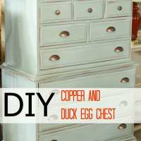 Duck Egg and Copper Chest and A Sneaky Peeky