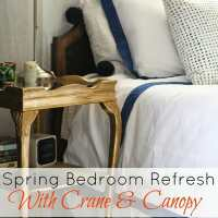 Starting a Spring Bedroom Refresh with Crane & Canopy (and A