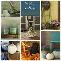Blogger Stylin Home Tour Fall Edition: My Porch and Kitchen