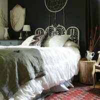 Moody Boho Bedroom Updates Featuring Crane & Canopy