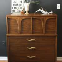 Bohemian Modern Dresser and A Great Hardware Solution