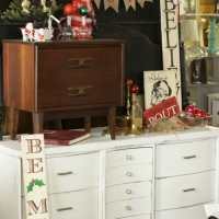 Distressed Midcentury Dresser- Or the Dresser I Wanted to Run ove