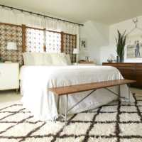 Boho Modern White and Wood Master Bedroom (and Getting a Good Nig